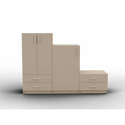 Variable height furniture