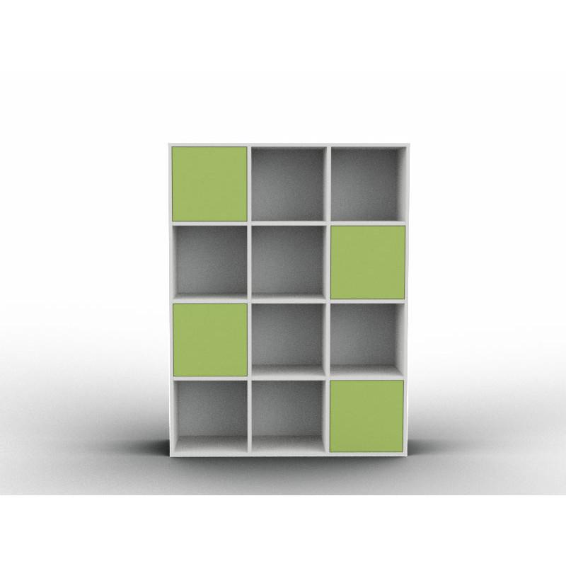 Simple bespoke bookshelf