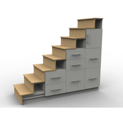 Our Custom Made Storage Stairs Aryga