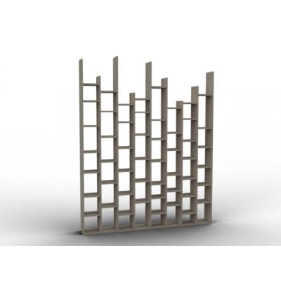 Cloison claustra sur-mesure en bois