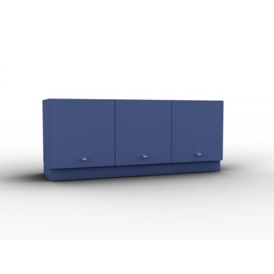 Meuble design et coloré avec porte relevable