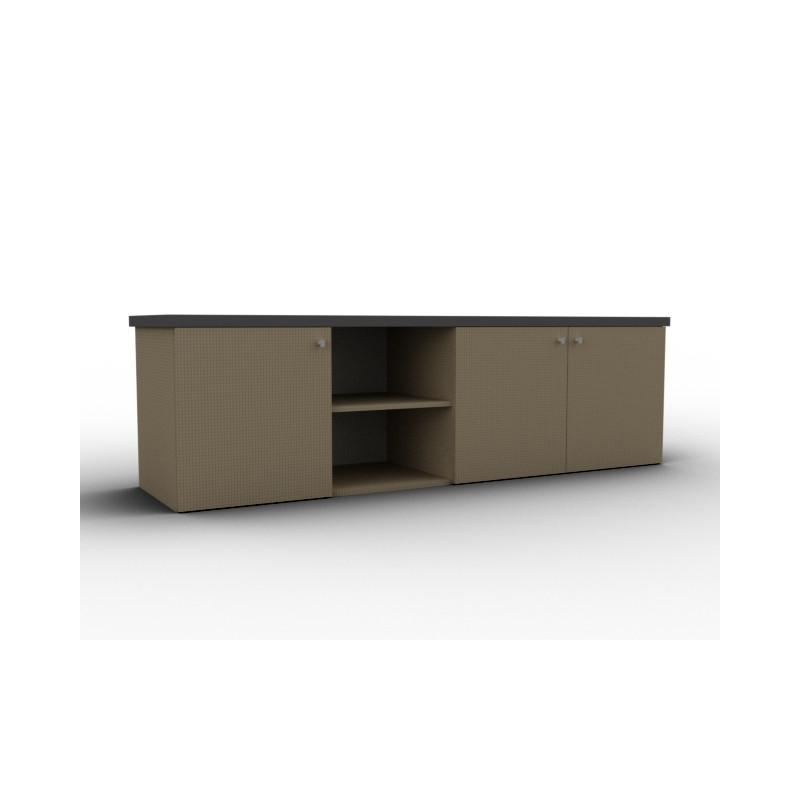 Buffet bas chêne design modulable