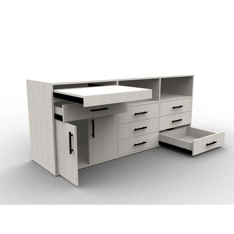 Meuble de rangement sur mesure chambre ou salo aryga for Meuble design sur mesure