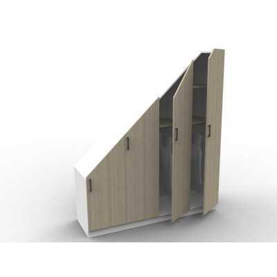 Etagre Sous Escalier Sur Mesure Srie Isabelle Sans Portes  Aryga