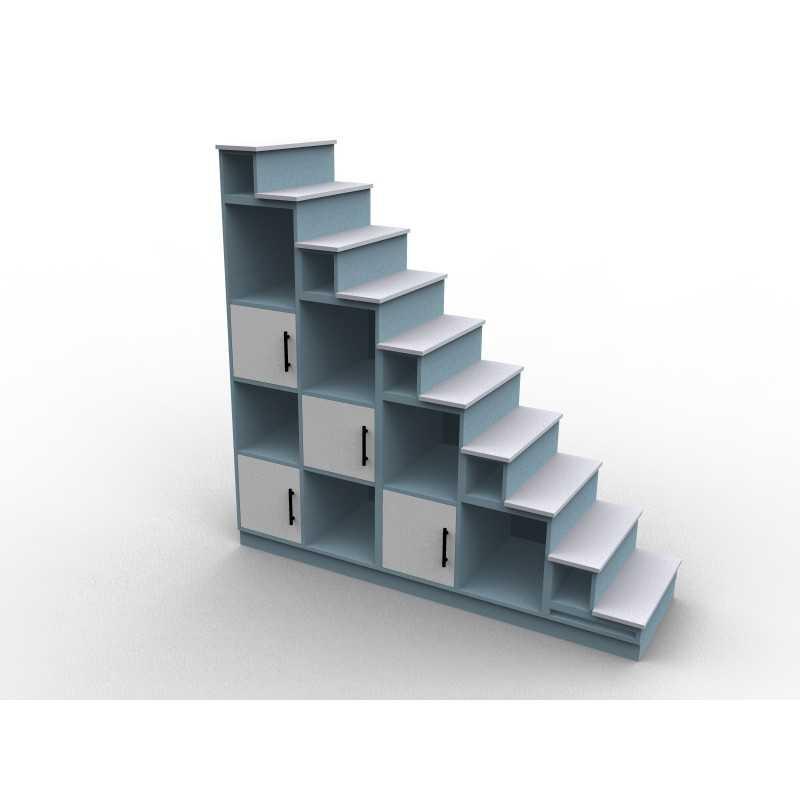 Meuble escalier mezzanine modèle lagon